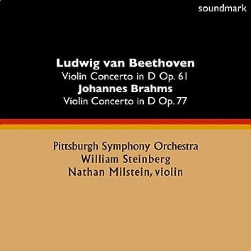 Ludwig van Beethoven: Violin Concerto in D Op. 61 - Johannes Brahms: Violin Concerto in D Op. 77