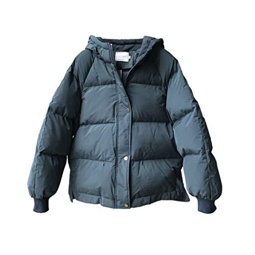 DJL katoenen jas - winterjas dames korte katoenen dikke katoenen jas