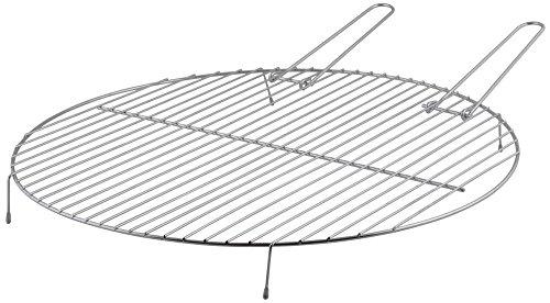 Esschert Design Grillrost für Feuerschalen, 52 x 52 x 5,4 cm, Größe S, aus Metall