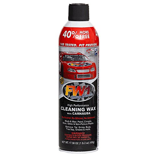 RGS Labs FW1 Waterless Wash & Carnauba Wax Detail Cleaning Polish 17.5oz by Fast Wax (1, Fast Wax)