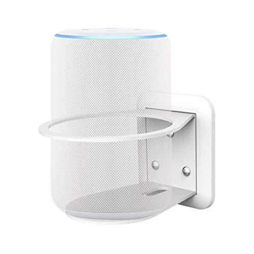 Cozycase Soporte para Ech/Ech Plus(2da generación) y para Google Home, administración de Cables integrada, una solución Que Ahorra Espacio - Blanco