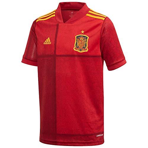 adidas Jungen FEF H JSY Y T-Shirt, Victory red, 910Y