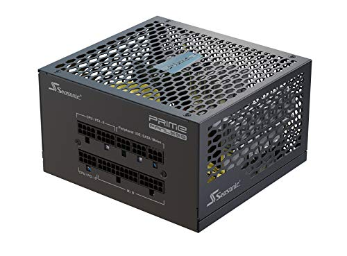 .Seasonic PRIME FANLESS PX-450, 450W , Full Modular, ATX12V & EPS12V, True Fanless Design, Perfect Power Supply for…