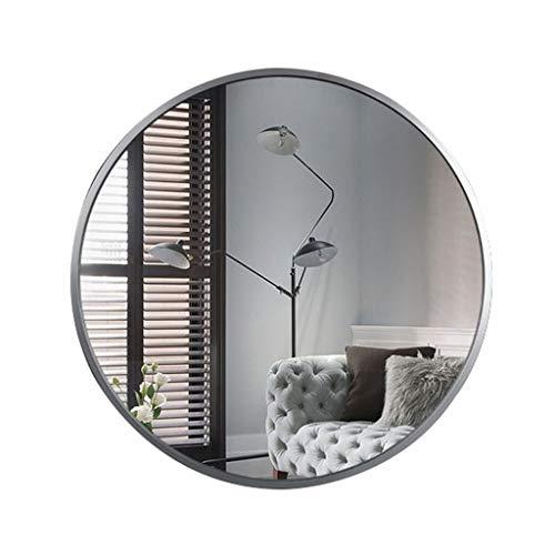 Wandspiegel 19,6-27,5 Zoll Wand-Schminkspiegel HD Vanity Make Up Spiegel Silber Rasierspiegel Aluminiumlegierung Rahmen für Apartment Badezimmer