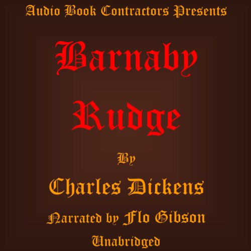 Barnaby Rudge audiobook cover art