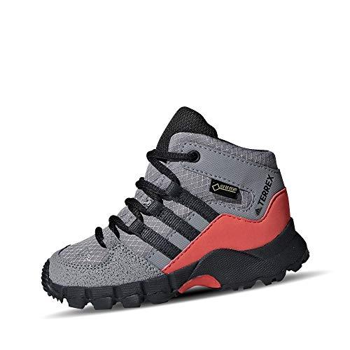 adidas Unisex Baby Terrex Mid GTX I Stiefel, Grau (Gritre/Carbon/Esctra 000), 21 EU