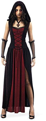 Halloween - Robe Vampire Gothique - Déguisement Femme - XL