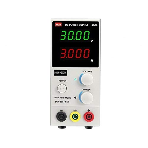YZLP osciloscopio MCH-K303D Ajustable de reparación de teléfonos Fuente de Corriente Continua 3A móvil (Size : 220V)