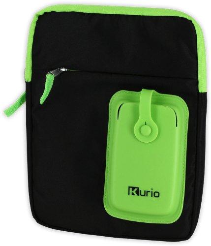 Kurio Meroncourt Sac à bandoulière de Transport pour 4–25,4 cm téléphones – Vert/Noir