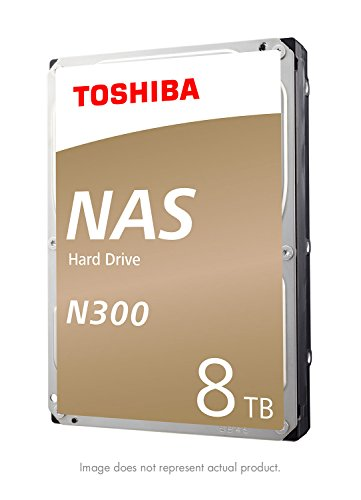 Our #4 Pick is the Toshiba (HDWN180XZSTA) N300 8TB NAS 3.5-Inch NAS Hard Drive
