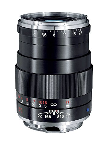 Carl Zeiss Tele-Tessar T* 4/85 ZM SLR Teleobjektiv Black - Kameraobjektive (SLR, 5/3, Teleobjektiv, 0,9 m, 4-22, 8,5 cm)
