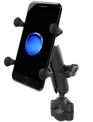 RAM MOUNTS Torque Kompletthalterung für Smartphones, 1 Zoll B-Kugel, X-Grip - RAM-B-408-75-1-UN7U