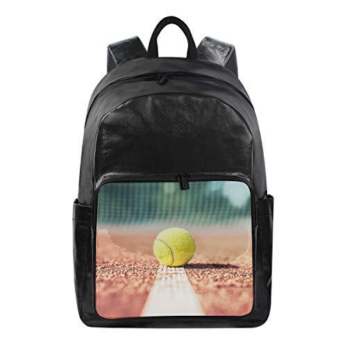 CPYang Sport Ball Tennis Rucksack Casual Rucksack Daypack College Schule Reiserucksack für Damen Herren