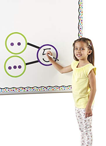 Learning Resources Giant Magnetic Number Bonds, Math Teacher aids, Whiteboard accessories, 55 Pieces, Grades K+