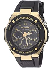 Casio G-Shock Analog-Digital Black Dial Men's Watch - GST-S300G-1A9DR (G792)