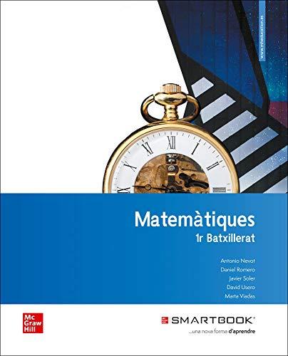 Matematiques CT 1 Bach. Llibre alumne