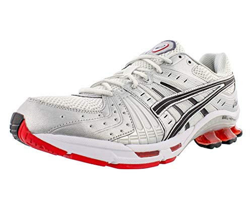 ASICS Men's Gel-Kinsei OG Shoes, 8.5M, White/Black/Red