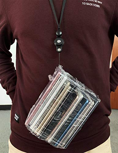 ネクストラップストラップ2WAY吊下げひもリングストラップiPhoneストラップ携帯ひも首掛けフィンガーリング脱着式ブラック
