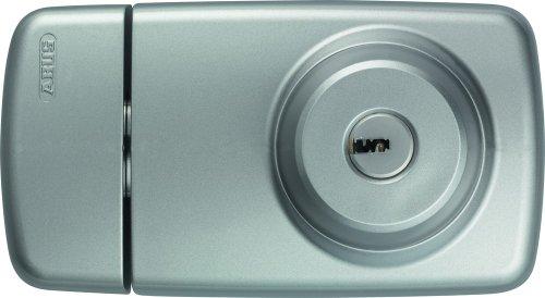 ABUS Tür-Zusatzschloss 7025 mit beidseitigem Zylinder, silber, 53296