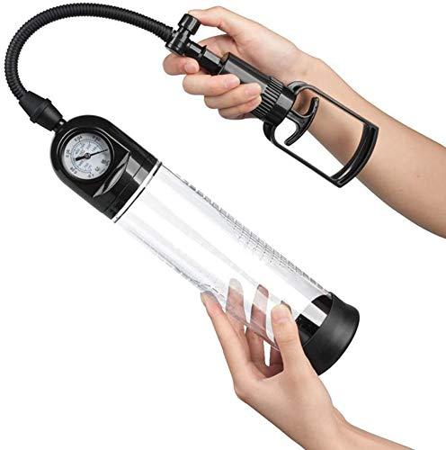 TTDD Wand Massager Automatic Pê~NISextender Exerciser, Suction Vacuum Men's Pênnis Vacuum Pump, Rechargeable PênīsEñlárgèmènt Suitable for Holiday