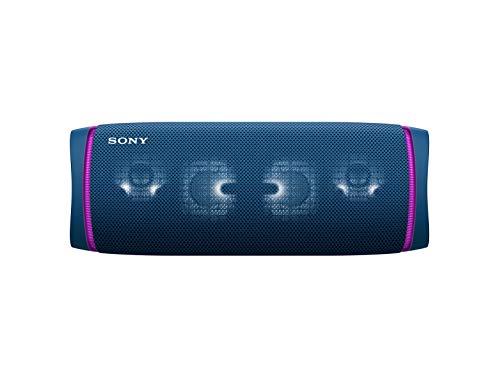 SONY SRS-XB43/LC Bocina Bluetooth Portátil con ExtraBass, Resistente al agua y al polvo, 24 Hrs Batería, Azul
