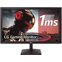 "LG 24MK400H-B - Monitor Gaming FHD de 59, 8 cm (23, 8"") con Panel TN (1920 x 1080 píxeles,  16:9,  1 ms,  75Hz,  250 cd/m²,  1000:1,  NTSC >72%, D-SUB x1, HDMI x1) Color Negro Mate"