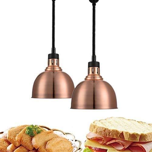 2 Paquete de la lámpara de calentamiento de alimentos, 75-1