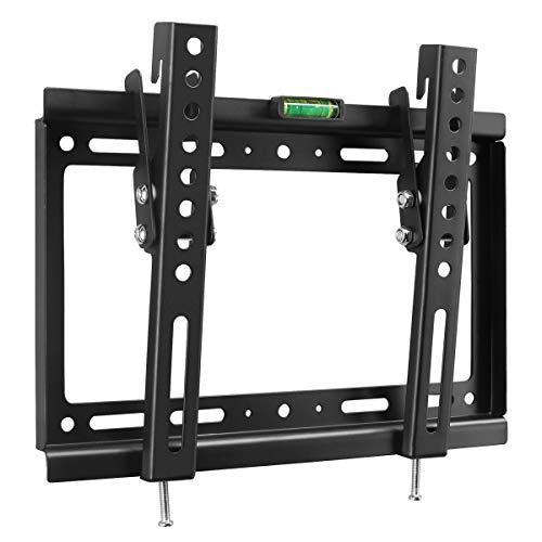 Soporte de TV - Soporte de TV en Pared Inclinable para Televisores de 14 a 32 Pulgadas con Carga de 25kg, VESA máx. De 200 x 200 mm MT3202