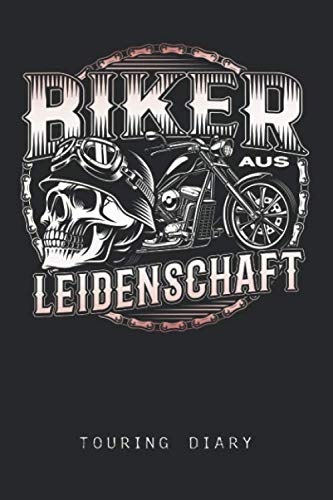 Biker aus Leidenschaft: Checkered Sheets Journal or Notebook (6x9 inches) 120 Pages