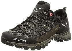 Salewa Damen WS Mountain Trainer Lite Gore-TEX Trekking-& Wanderstiefel, Wallnut/Fluo Coral, 41 EU