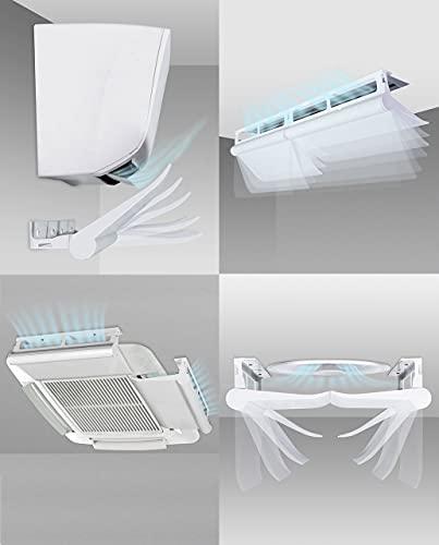 Deflettore condizionatore & Aria condizionata Climik Universal, per fan coil, condizionamento canalizzato, lame d'aria, anemostati, split, cassette. Brevettato. Made in Italy
