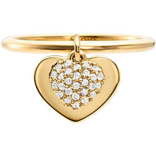 Michael Kors Damen-Damenring 925er Silber 55 Gold 32000195