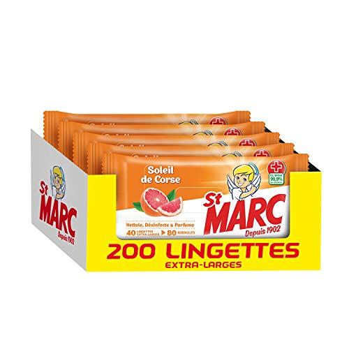 Lingettes Désinfectantes St Marc