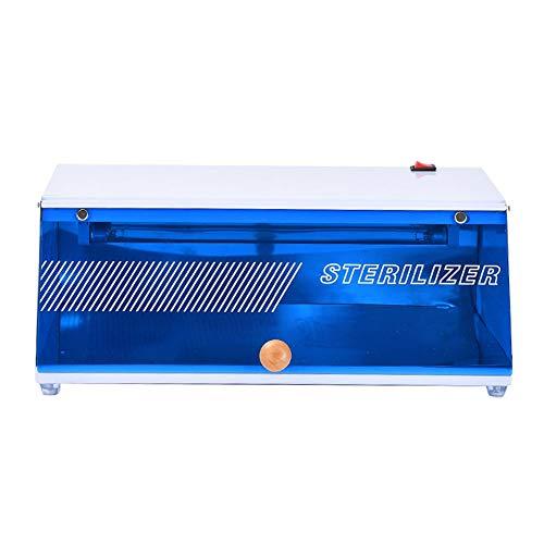 LIUHUAN Generador de ozono UV, Caja de esterilizador UV Máquina de esterilización desinfección para teléfonos celulares, anteojos, Herramientas de Belleza,Azul