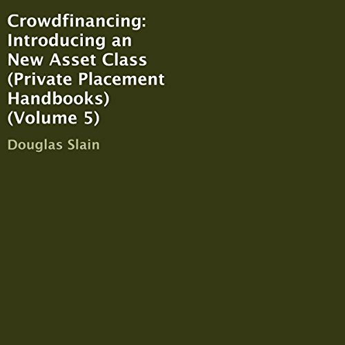 Crowdfinancing audiobook cover art