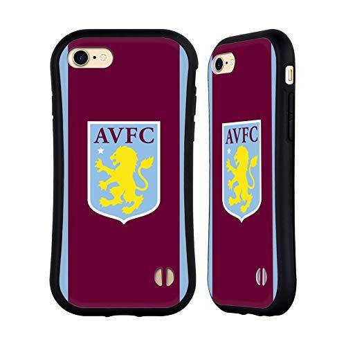 Aston Villa Football Club Home 2019/20 - Carcasa híbrida para iPhone 7, iPhone 8 y iPhone SE 2020