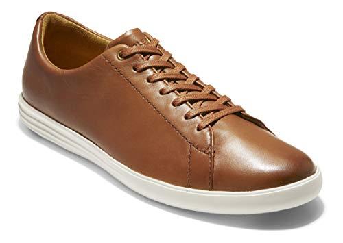 Cole Haan Men's Grand Crosscourt II Sneaker, tan leather burnished, 13 Medium US