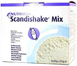 Scandishake Mix Unflavoured 85g x 6