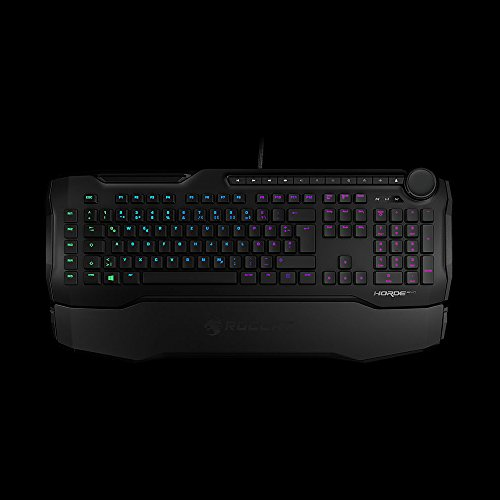 Roccat Horde Aimo - Wired Keyboard - USB - Black