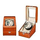 ZCXBHD Watch Winder Cajas Giratorias para Relojes Caja Relojes 2+3 Relojes Automaticos 5 Modos de Rotación Silenciosa Caja de Almacenamiento Caja de Almacenamiento