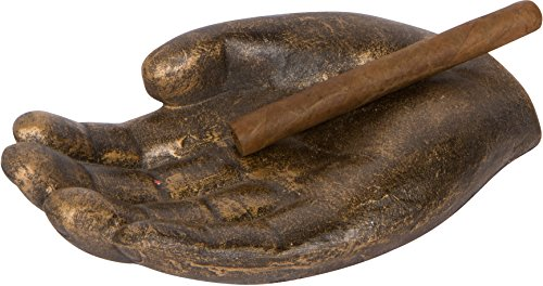 10' Hand Shaped Cigar Holder and Ashtray By EZ Drinker