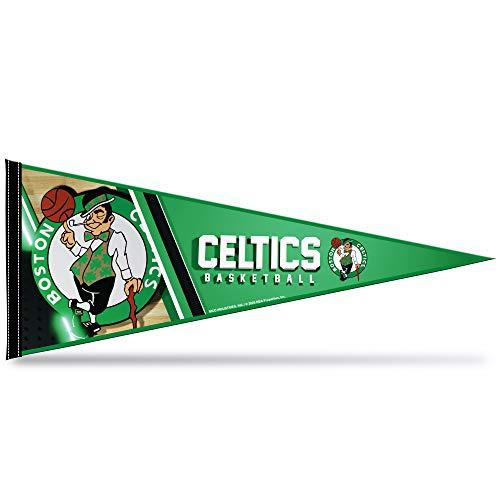 Rico Industries NBA Boston Celtics 12' x 30' Soft Felt Pennant with Header Card