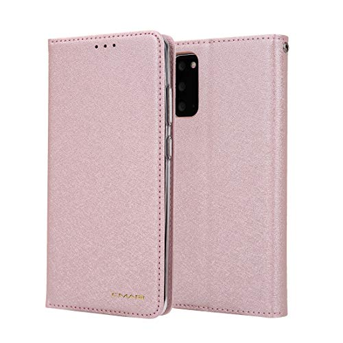 JIAHENG Phone Case Silk Pattern Wallet Phone Case for Samsung Galaxy S20 FE/S20Lite Leather Card Case Wallet with Handy Stand Feature Flip Phone Case [PU Shockproof Interior Case] PU Leather Cove