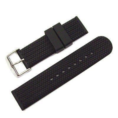 WCC - Unisex -Armbanduhr- REIFEN-DORN-22-schwarz