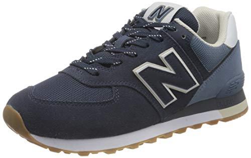 New Balance ML574GRE_44,5, Scarpe da Ginnastica Basse Uomo, Navy, 44.5 EU