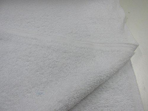 Confección Saymi Metraje 0,50 MTS Tejido Rizo Toalla Blanco, con Ancho 1,50 MTS. 410 Gr 100% Algodón