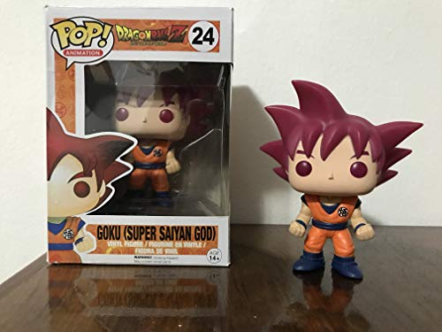 Funko POP! Anime: Dragonball Z Super Saiyan God Goku Vinyl Figure image