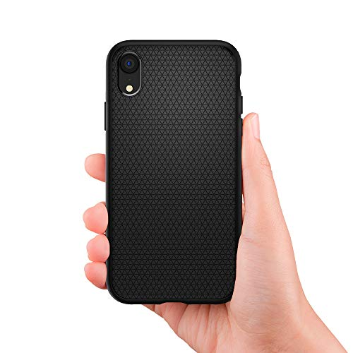 Spigen Liquid Air Armor Designed for Apple iPhone XR Case (2018) - Matte Black