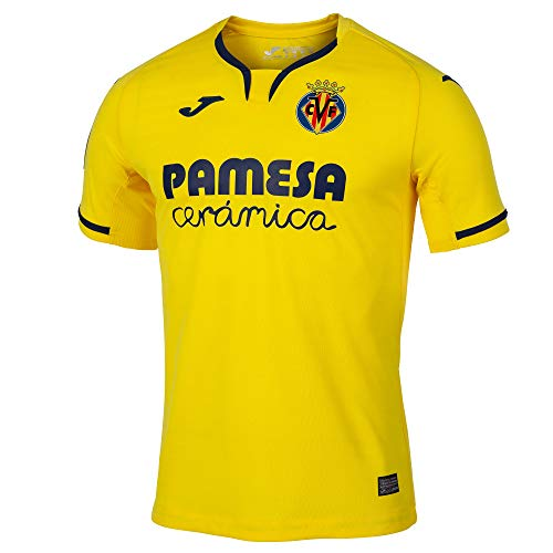 Joma 2019-2020 Villarreal Home Football Soccer T-Shirt Trikot