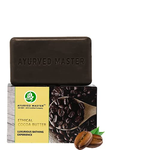 AYURVED MASTER ACTIVIST Cocoa Butter Handmade organic Luxury Soap,125 GM